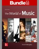 LOOSELEAF the WORLD of MUSIC with CONNECT ACCESS CARD 8th Edition