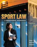 Sport Law 3rd Edition