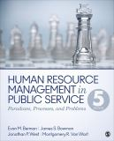 Human Resource Management in Public Service 5th Edition