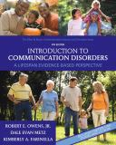 Introduction to Communication Disorders 4th Edition