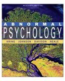 Abnormal Psychology 11th Edition