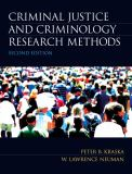 Criminal Justice and Criminology Research Methods 9780135120088