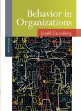 Behavior in Organizations 9780136090199