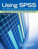 Using SPSS for Windows and Macintosh 5th Edition