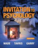 Invitation to Psychology 6th Edition