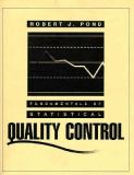 Fundamentals of Statistical Quality Control 9780023960345