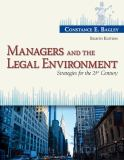 Managers and the Legal Environment 8th Edition