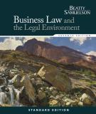Business Law and the Legal Environment, Standard Edition 9781285860381