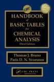 Basic Tables for Chemical Analysis 9781420080421