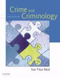 Crime and Criminology 9780195370447
