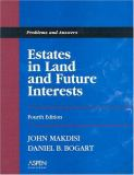 Estates in Land and Future Interests 9780735540477
