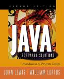 Java Software Solutions 9780201750522