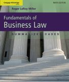 Fundamentals of Business Law 9781111530624
