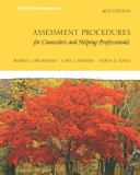 Assessment Procedures for Counselors and Helping Professionals 8th Edition