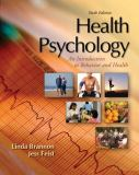 Health Psychology 6th Edition