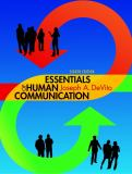 Essentials of Human Communication 8th Edition