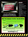 Grey House Safety and Security Directory 2005 9781592370672