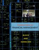 Foundations of Financial Management 14th Edition