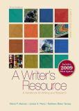 A Writer's Resource 3rd Edition