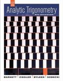 Analytic Trigonometry with Applications 10th Edition