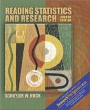 Reading Statistics and Research 9780205380817