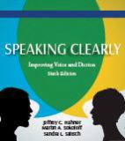 Speaking Clearly 6th Edition
