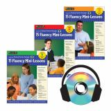 Fluency Mini-Lessons Set Grades 1-3 with Audio CDs 9781607190981