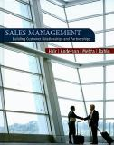 Sales Management 9780618721016