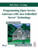 Programming Open Service Gateways with Java Embedded Server 9780201711028