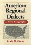 American Regional Dialects 9780472081035