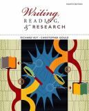 Writing, Reading, and Research 8th Edition
