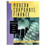 Modern Corporate Finance and PH FinCoach Center 9780130151049