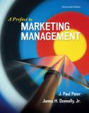 Preface to Marketing Management 14th Edition