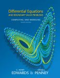 Differential Equations and Boundary Value Problems 4th Edition
