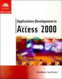 Applications Development in Microsoft Access 2000 9780760071083