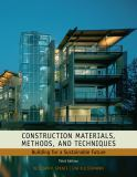 Construction Materials, Methods and Techniques 9781435481084