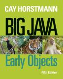 Big Java 5th Edition