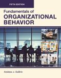 FUNDAMENTALS of ORGANIZATIONAL BEHAVIOR, Fifth Edition (Paperback-4C)