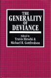 The Generality of Deviance 9781560001164