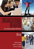 Organizational Behavior 13th Edition