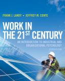 Work in the 21st Century 9781118291207