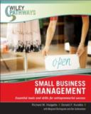 Small Business Management 9780470111260