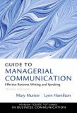 Guide to Managerial Communication 10th Edition