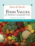 Bowes and Church's Food Values of Portions Commonly Used 19th Edition