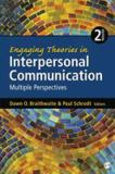 Engaging Theories in Interpersonal Communication 2nd Edition