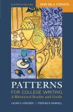 Patterns for College Writing with 2009 MLA Update 11th Edition
