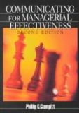 Communicating for Managerial Effectiveness 9780761921523
