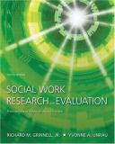 Social Work Research and Evaluation 8th Edition