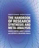 Handbook of Res Synthesis 2 Ed 9780871541635