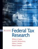 Federal Tax Research 9781111221645